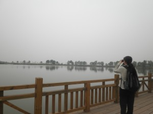 At Wild Duck Lake National Park on a field trip for the Clear Water Education Project.