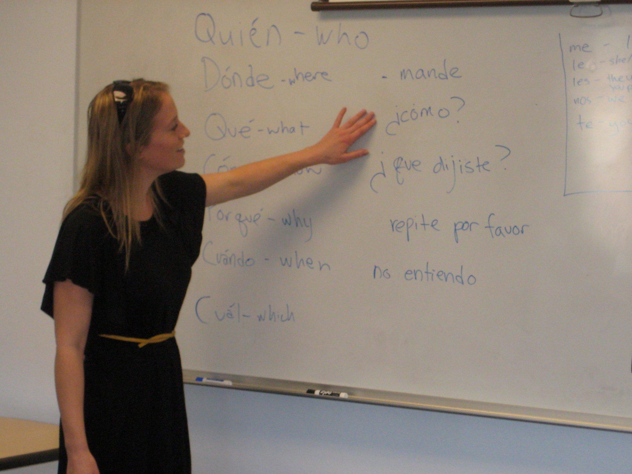 2011 Spanish Class