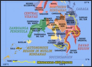 Mindanao-400-Route