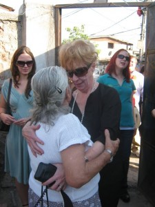 Jan Black and Ana Maria in La Victoria