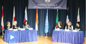 "Video: CIF Student Panel ""Youth Education and Treaty on Prohibition of Nuclear Weapons"""