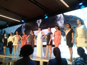 Eco-fashion show at World Changing Questions