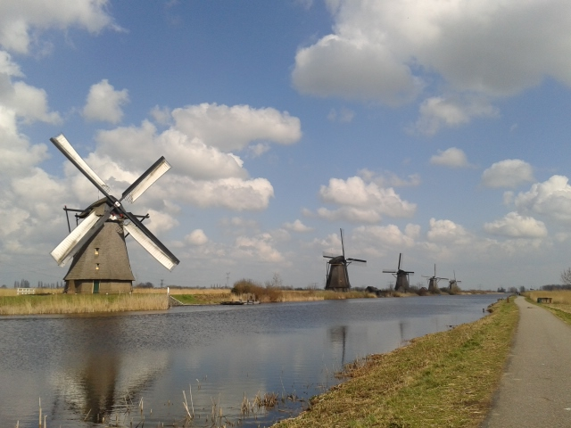 Swinging at windmills