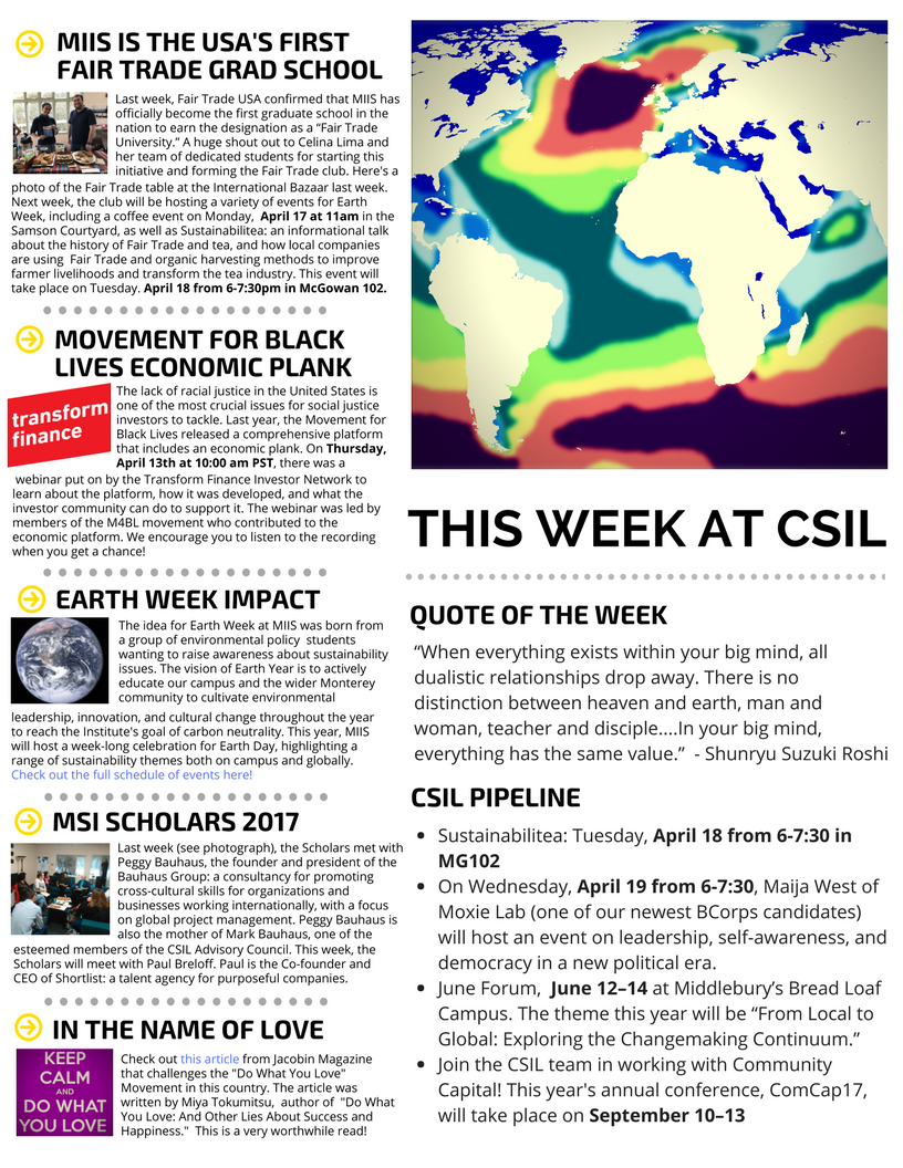 Clare Margason – The Center for Social Impact Learning (CSIL)
