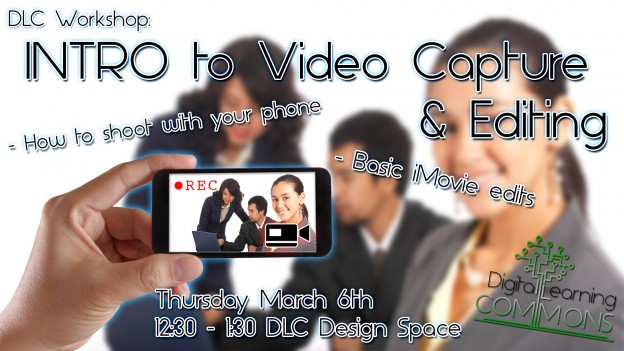 Intro to Video Workshop Flyer