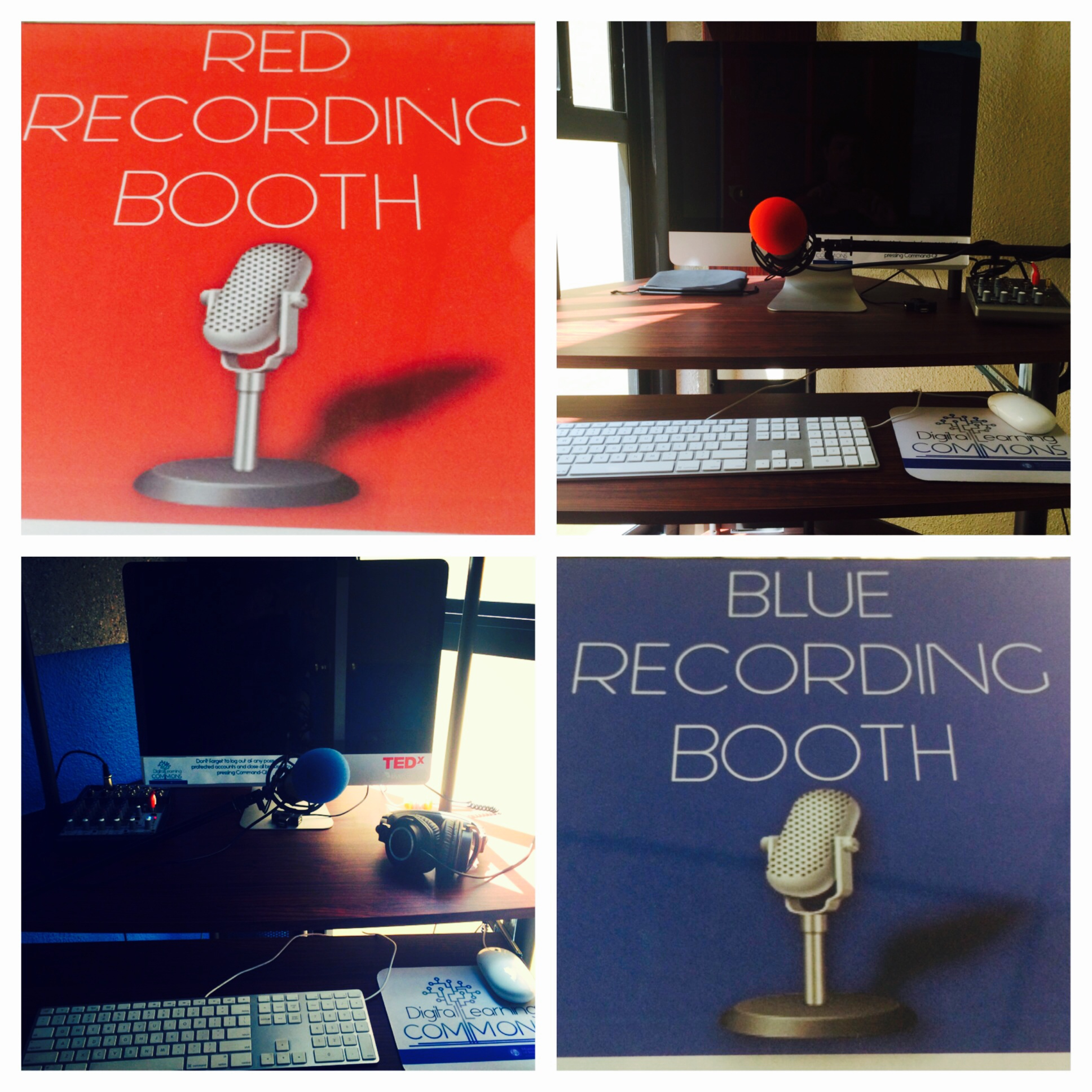 recording booths