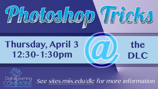 Photoshop Tricks Workshop