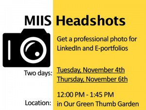 Get Your Professional Headshot