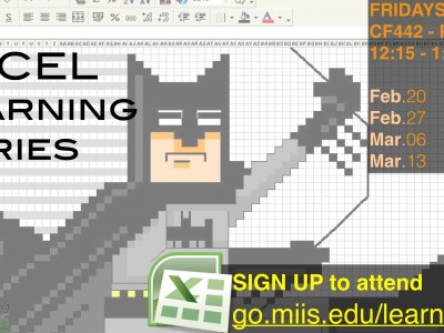 Spring 2015 Excel Learning Series