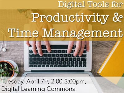 Digital Tools for Productivity & Time Management