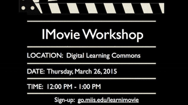 IMovie Digital Sign