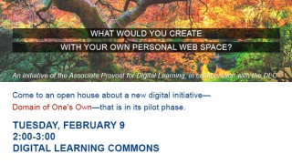 Domain of One's Own Open House