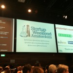 Live twitter feed and list of sponsors of Startup Weekend Amsterdam.