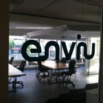 View into main co-working space at enivu.