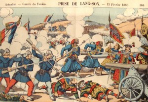 Capture of Lang Son by french Army in february 1885-photo from wikipedia