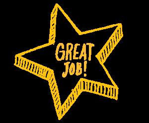 Great Job gold star