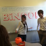 Our Turkish and Russian ESL students played International Bingo with our guests!