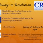 Pathways to Resolution Event