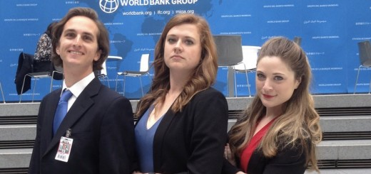 Lizzie (in the middle) and friends at World Bank.jpg