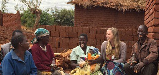 Melissa Hewitt in Malawi