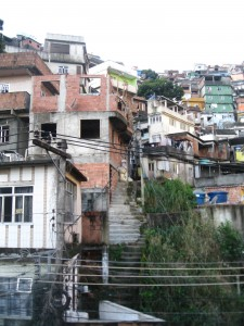 Rocinha, where I live.
