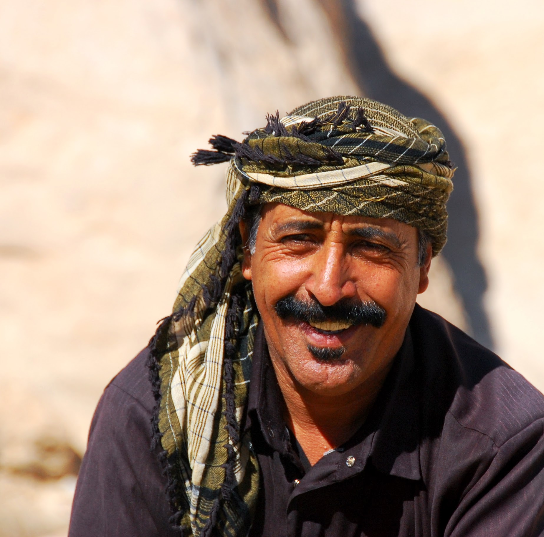 Mohammed Abu Ali, our guide who helped us explore Dana Nature Reserve in search of climbing opportunities