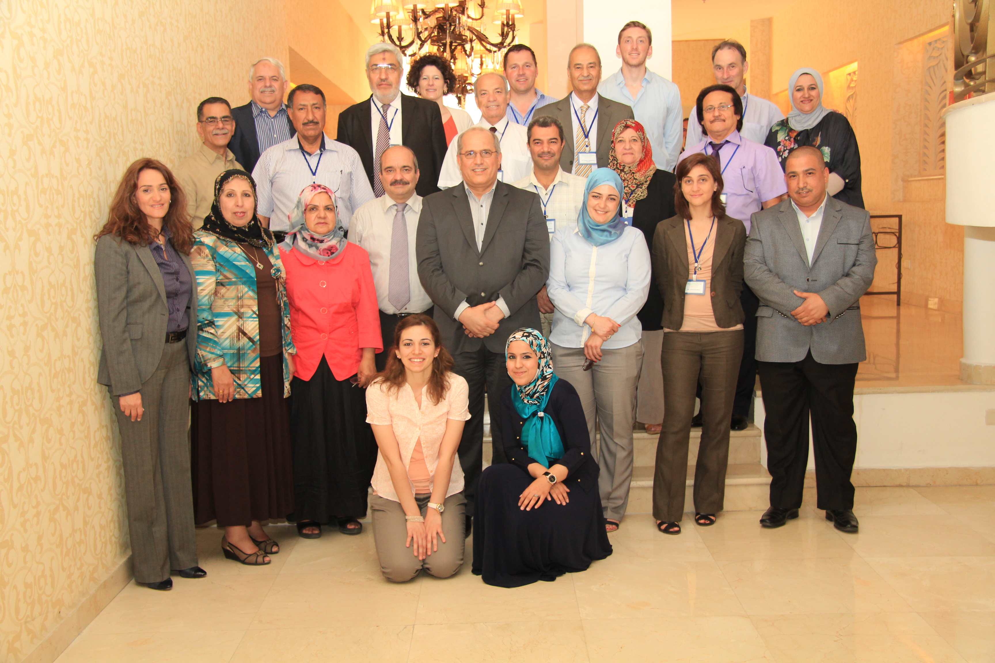 Iraq's National Biodiversity Strategy Action Plan team - Amman, Jordan - July 2013