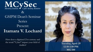 Dean's Seminar Itamara Lochard