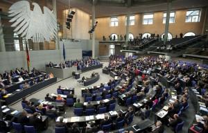 Sondersitzung Bundestag