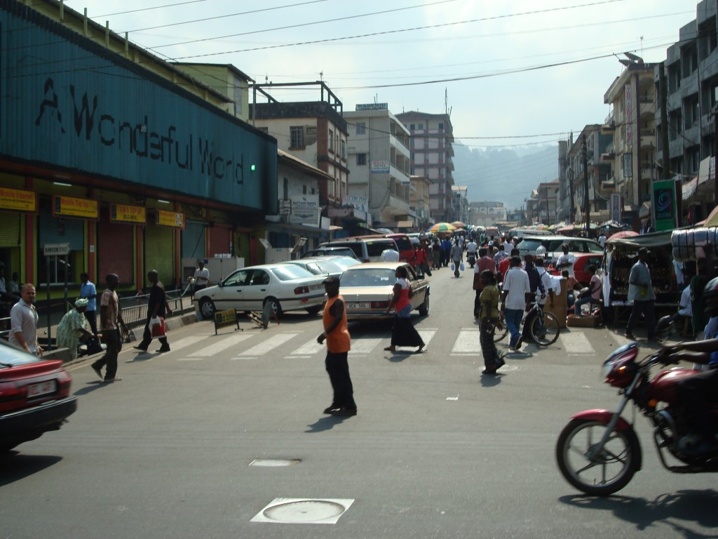Sierra Leone Peacebuilding J-Term Trip