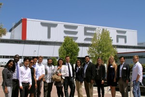 PTD students present at Tesla Motors