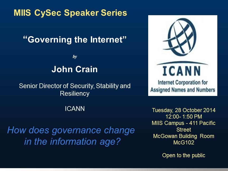 CySec ICANN