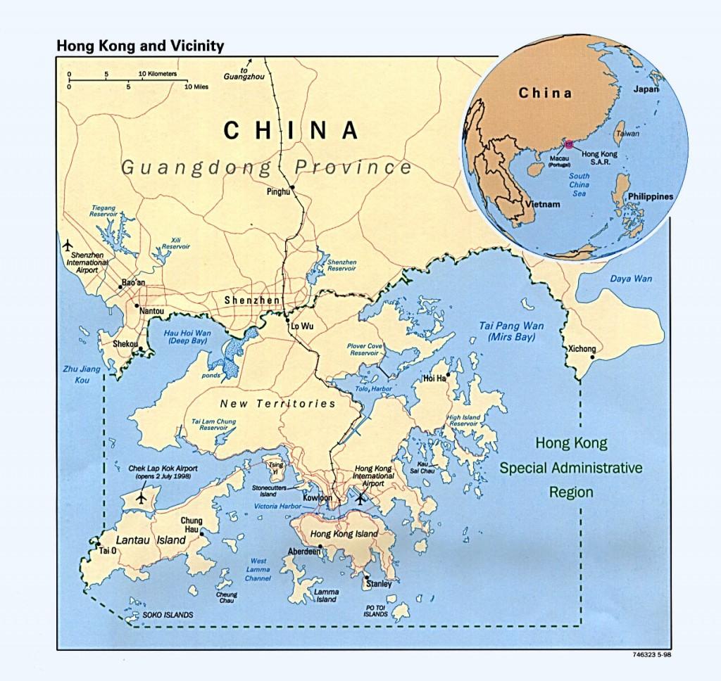 Гонконг где находится на