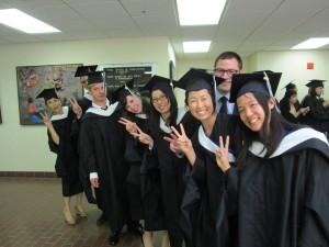 森さんと去年の卒業生