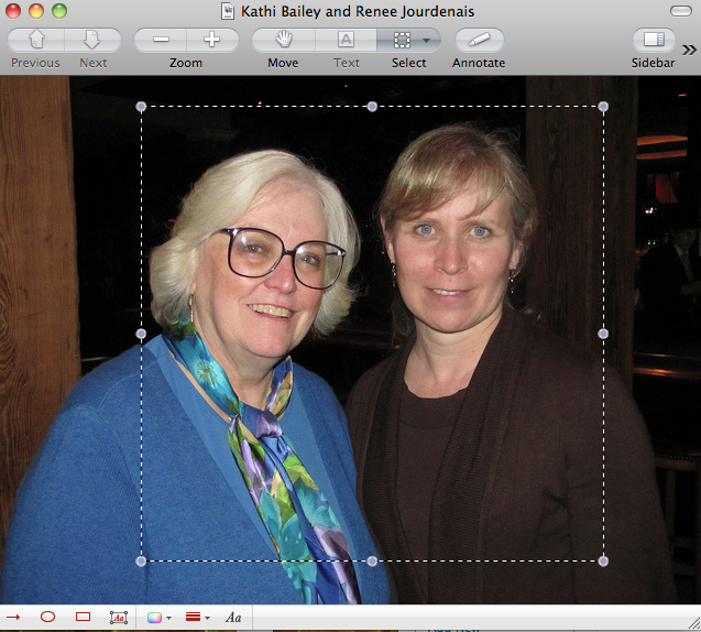 how to use preview to edit photos