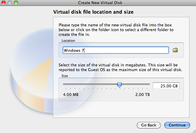 Configure the disk