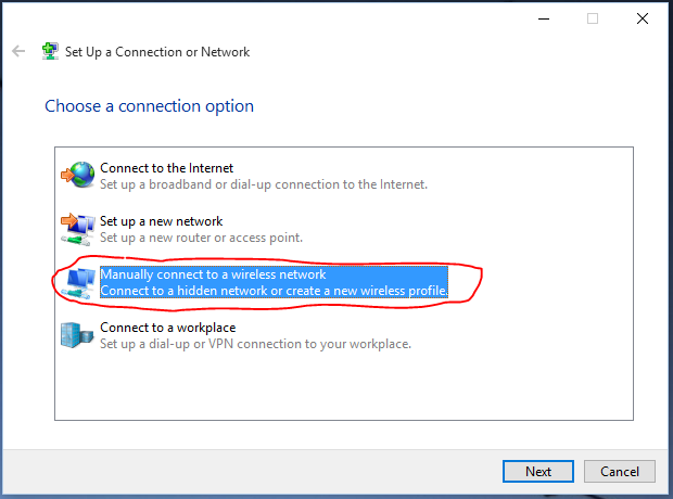 How to manually connect to Wi-Fi on Windows 10 – Knowledge Base