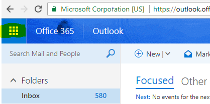 sign outlook office 365