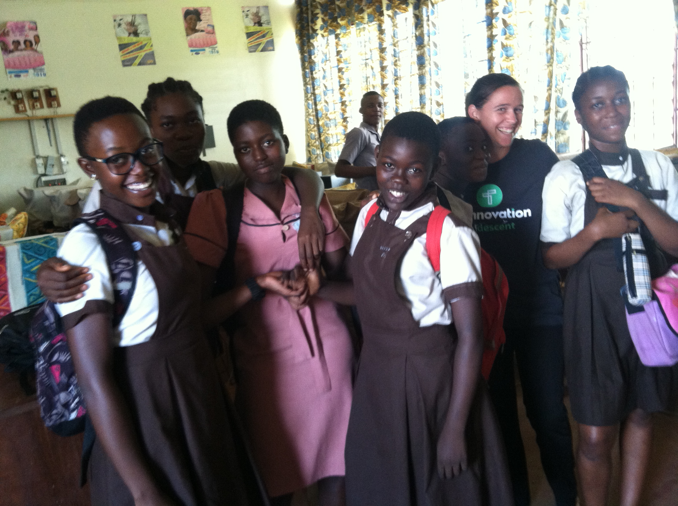 These girls believe in school, technology, and making their community better.