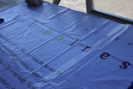 """Our Tarpaulin (we called it a """"plea for action"""")"""