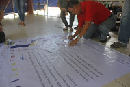 Ronald Sanchez, the Municipal Agricultural Officer (my boss), adding his signature