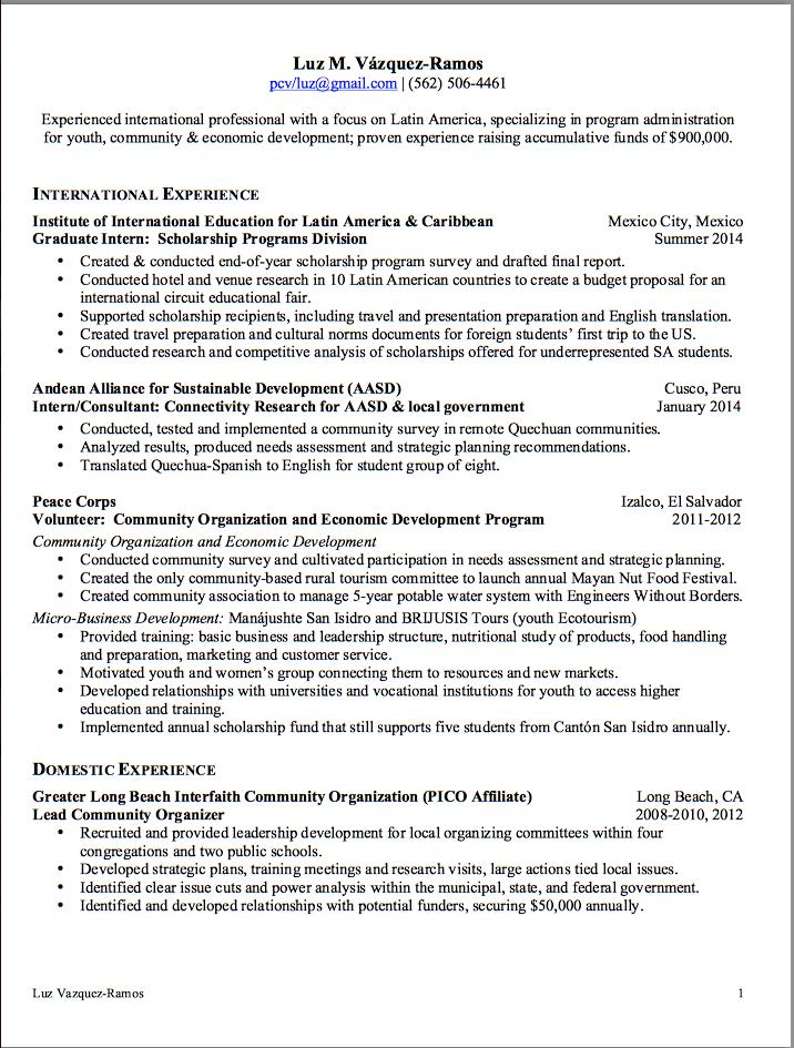 resume format for decathlon india