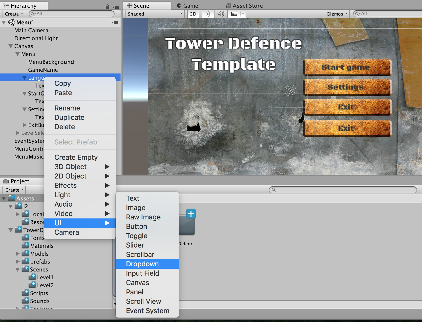 Software & Games L10n: Localizing Unity Game – Localization Management