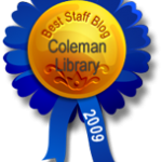 Best Staff Blog: Coleman Library