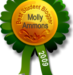 Best Student Blogger: Molly Ammons