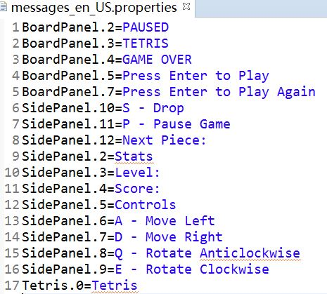 Game Localization: Localize a Java Game – Qiaoying Su