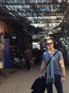 Lucas in Morocco