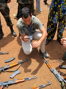 Jonah Leff, UN Weapons Inspector