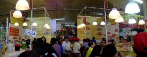 "This is the ""mercado"" in the center f Coyoacan. Our favourite place to eat and have a big orange juice."