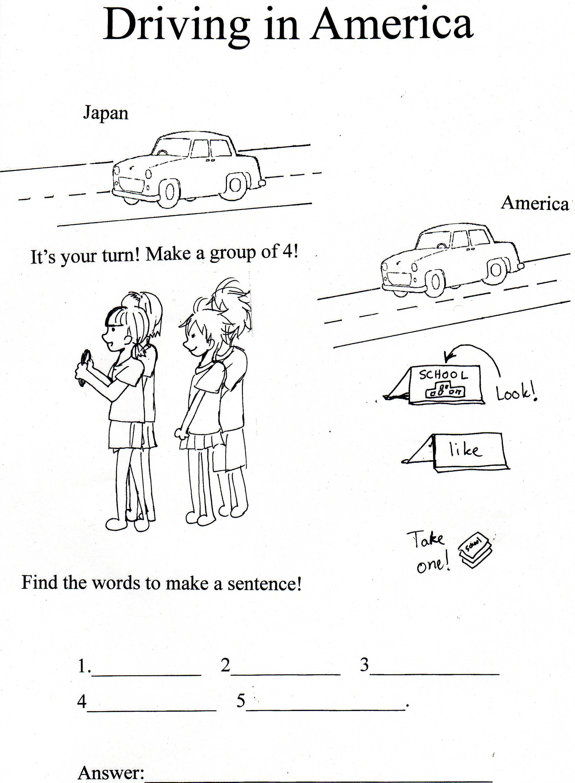 Worksheets Driver Education Worksheets sarah resnick jet program experience the original worksheet i made for this activity